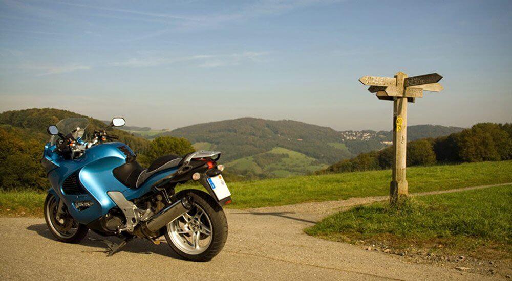 guidare la moto