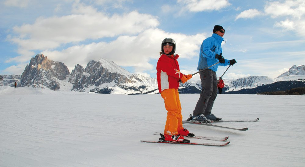 Exciting skiing vacation with kids in South Tyrol
