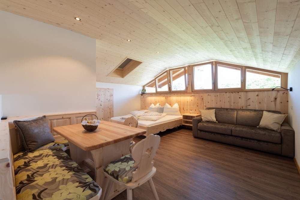 NOVITÀ: mini suite in legno di cirmolo – il nostro GIOIELLO